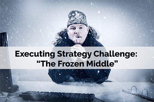 "Executing Strategy Challenge: ""The Frozen Middle"""